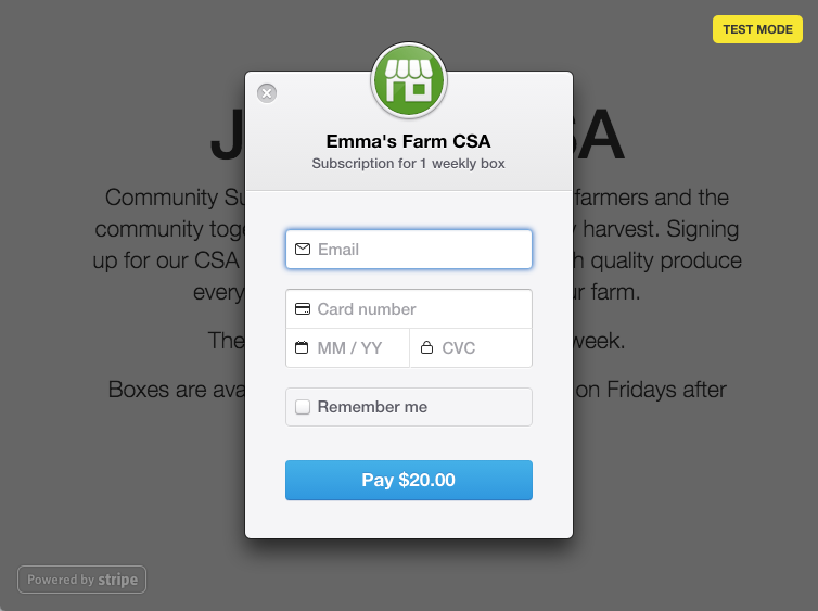Building a Subscription Signup Form | Stripe