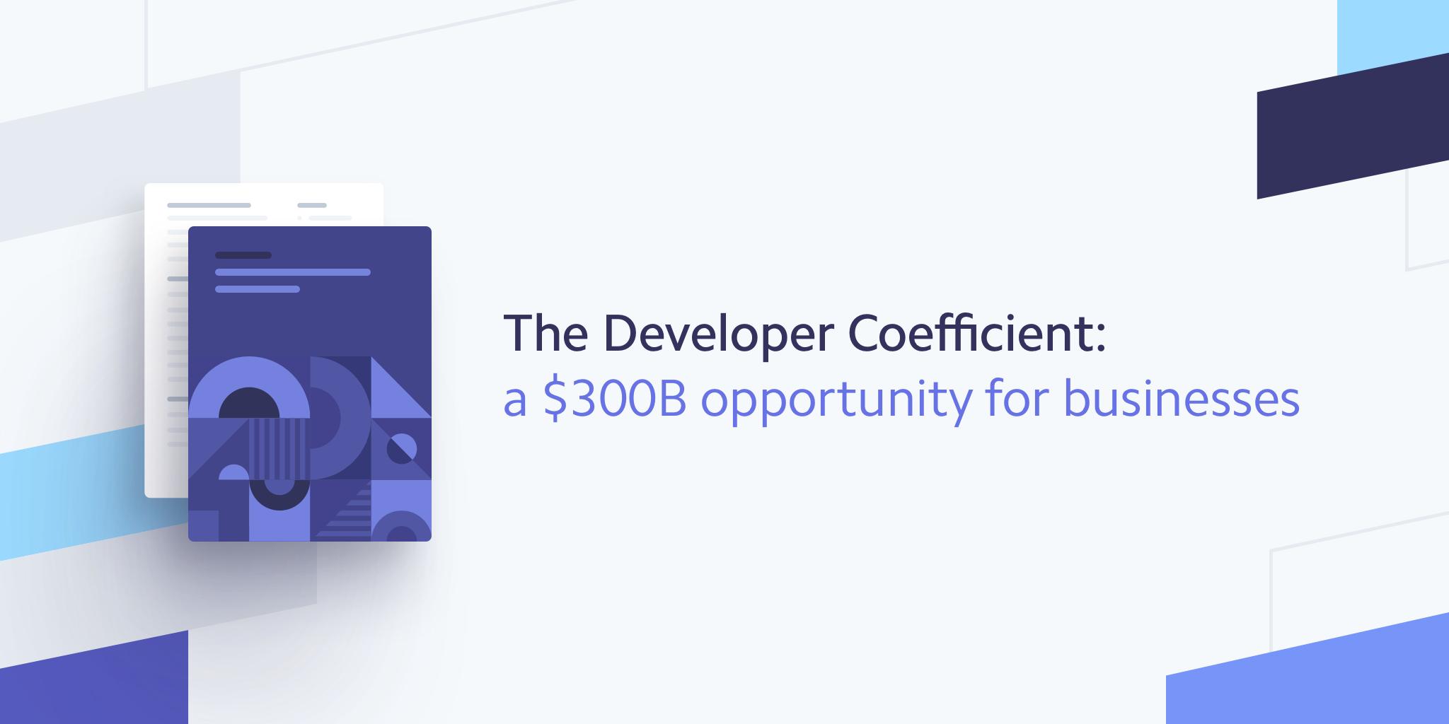 The Developer Coefficient